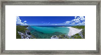 Breezy View Framed Print by Chad Dutson