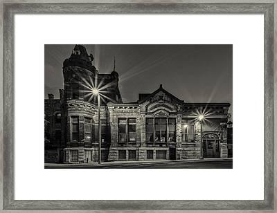 Brewhouse 1880 Framed Print by CJ Schmit
