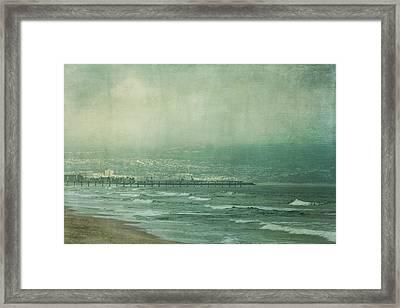 Brewing Storm Framed Print by Kim Hojnacki