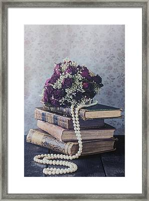 Bridal Bouquet Framed Print by Joana Kruse