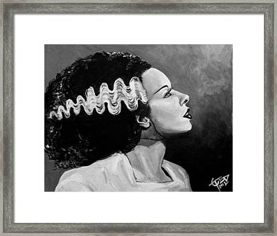Bride Framed Print by Tom Carlton