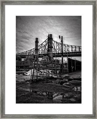 Bridge 2 Framed Print by H James Hoff
