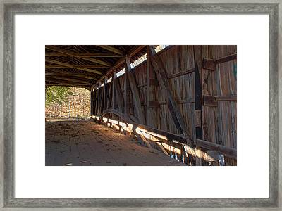 Bridge 38 Framed Print by Thomas Sellberg