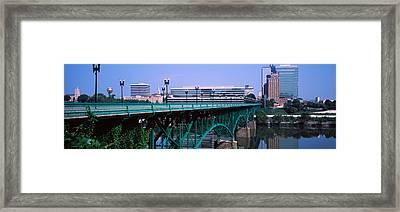 Bridge Across River, Gay Street Bridge Framed Print by Panoramic Images
