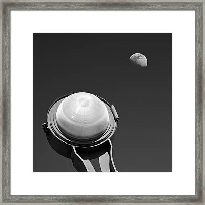 Bridge Light Framed Print by Dave Bowman