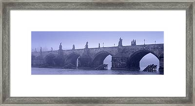 Bridge Over A River, Charles Bridge Framed Print by Panoramic Images