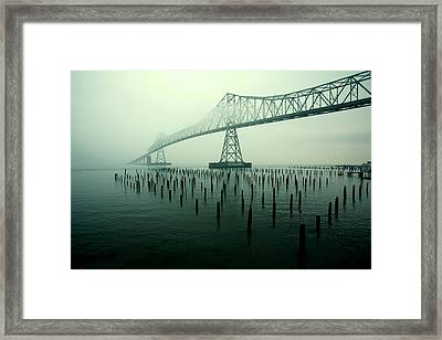 Bridge To Nowhere Framed Print by Todd Klassy