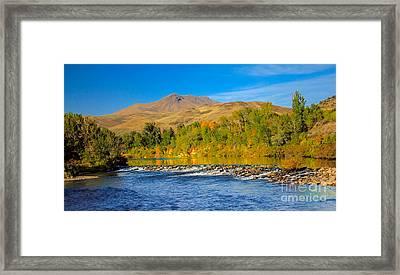 Bridge View Framed Print by Robert Bales