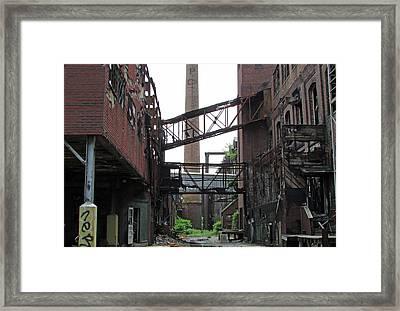 Bridgeport 2 Framed Print by Steve Breslow