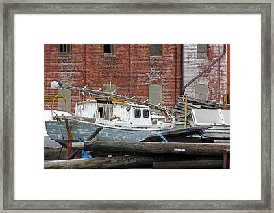 Bridgeport 4 Framed Print by Steve Breslow