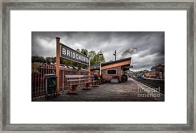 Bridgnorth Railway Station Framed Print by Adrian Evans