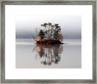 Bridgton Maine Framed Print by Henry Gray