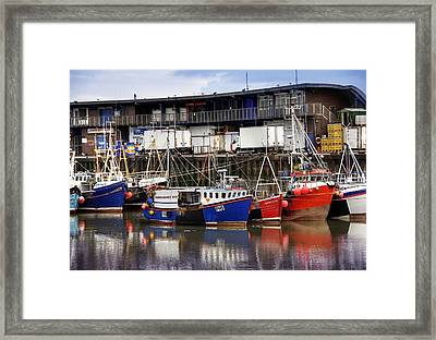 Bridlington Marina Framed Print by Svetlana Sewell