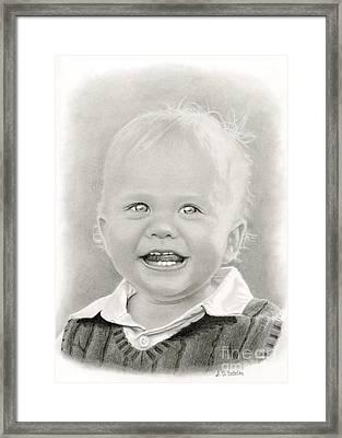 Bright Eyes Framed Print by Sarah Batalka