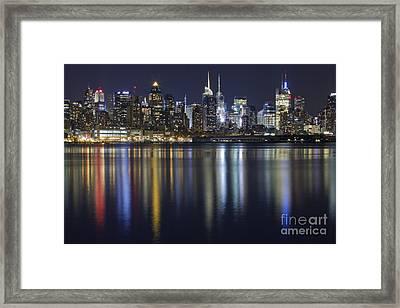 Bright Lights Big City Framed Print by Marco Crupi