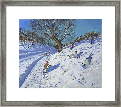 Bright Morning   Chatsworth Framed Print by Andrew Macara