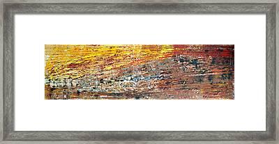 bright side of wildLife Framed Print by Martina Niederhauser