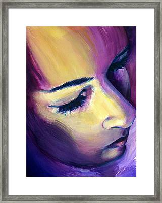 Bright Silence Framed Print by Rene Capone