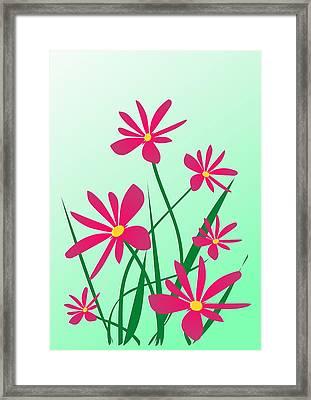 Brighten Your Day Framed Print by Anastasiya Malakhova