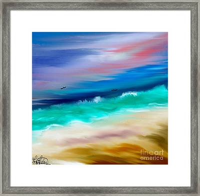 Brighter Days Framed Print by Lori  Lovetere