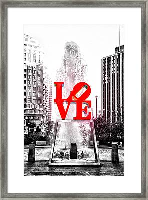 Brightest Love Framed Print by Bill Cannon