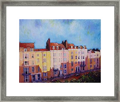 Brighton Beach Framed Print by Herschel Pollard