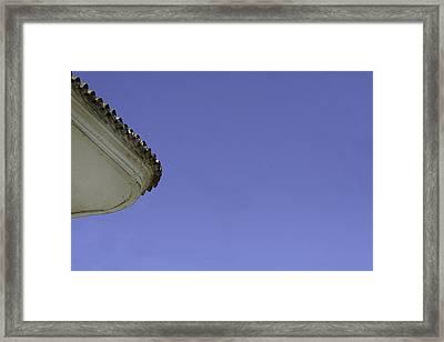 Brimful Of Corner.. Framed Print by A Rey