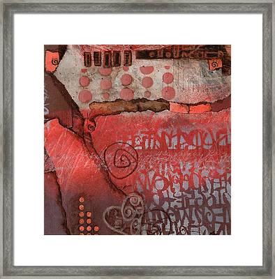 Bring It To The Surface Framed Print by Laura  Lein-Svencner