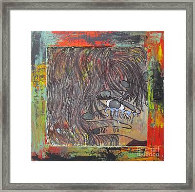 Bring Me Strength Framed Print by Jeanne Ward
