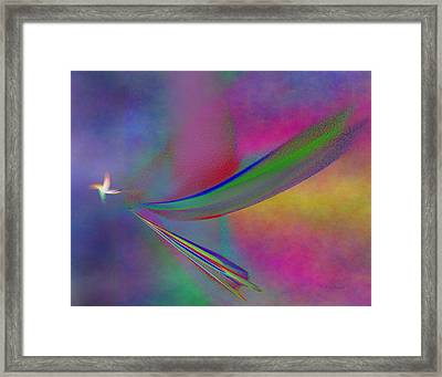 Bringer Of Peace Framed Print by Diane Parnell