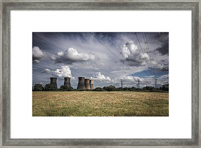Bringing Power To The Masses Framed Print by Chris Fletcher
