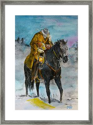 Bringing You Home Framed Print by Janina  Suuronen
