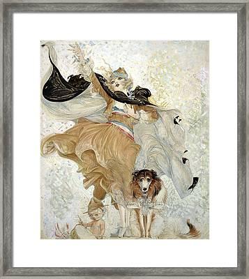 Brinkley Girl, 1918 Framed Print by Granger