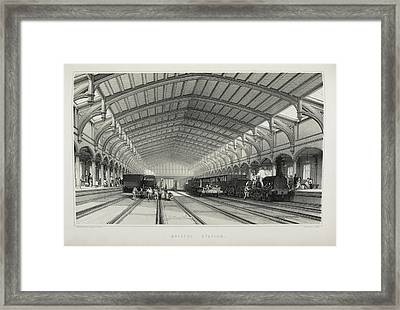 Bristol Station Framed Print by British Library