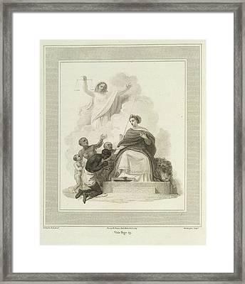 Britannia Framed Print by British Library