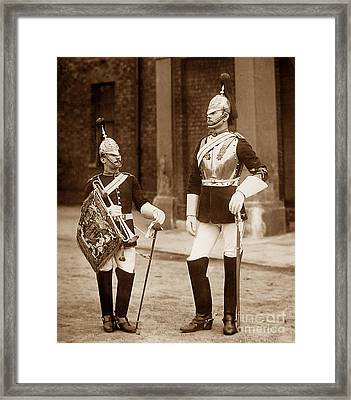 British Army Royal Horse Guards Framed Print by The Keasbury-Gordon Photograph Archive
