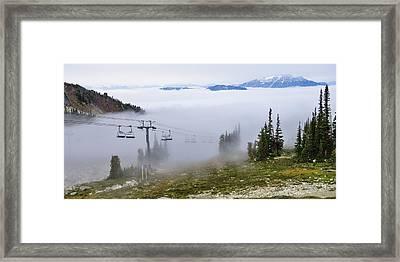 British Columbia, Whistler Framed Print by Matt Freedman