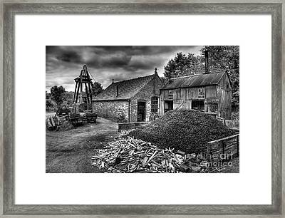 British Mine Framed Print by Adrian Evans