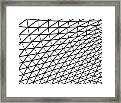 British Museum Geometry Framed Print by Rona Black