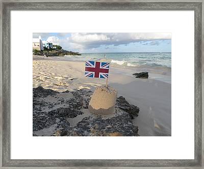 British Sandcastle Framed Print by Richard Reeve