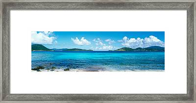 British Virgin Islands, St. John, Sir Framed Print by Panoramic Images
