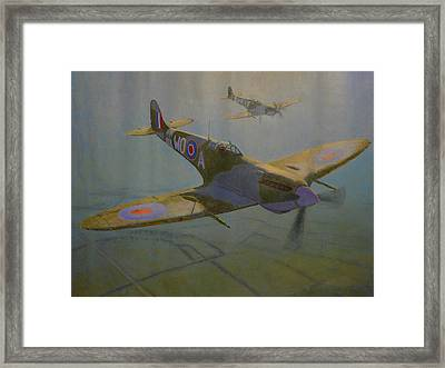 British Warbirds Framed Print by Terry Perham