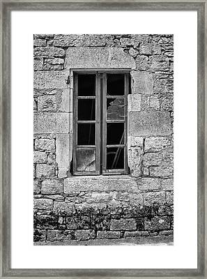 Broken And Empty Framed Print by Georgia Fowler