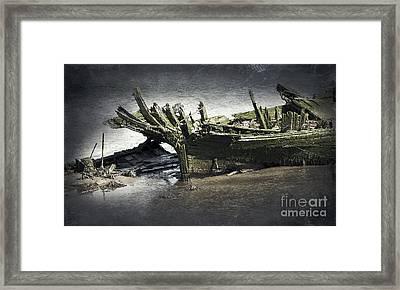 Broken And Forgotten  Framed Print by Svetlana Sewell