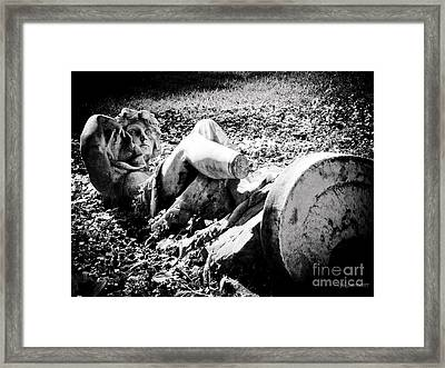Broken  Framed Print by Colleen Kammerer