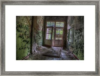 Broken Down Framed Print by Nathan Wright