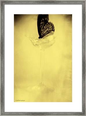 Broken Framed Print by Graham Hughes