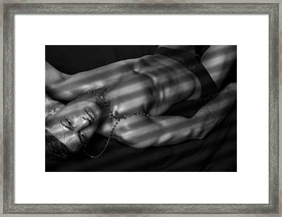Dream Strips  Framed Print by Mark Ashkenazi
