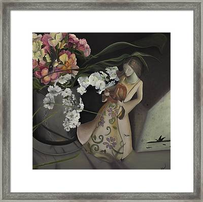 Broken Peace Framed Print by Jane Autry