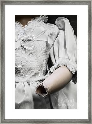 Broken Vows Framed Print by Margie Hurwich